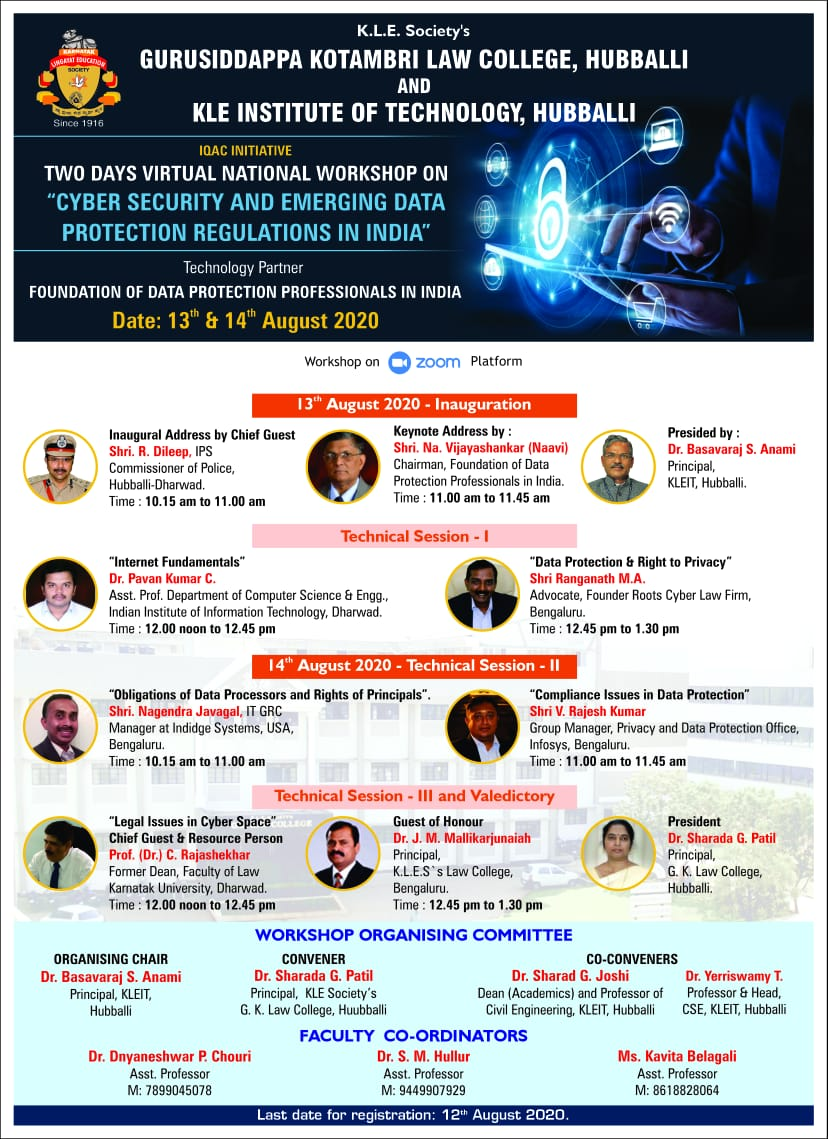 Cyber Security Workshop - 2020