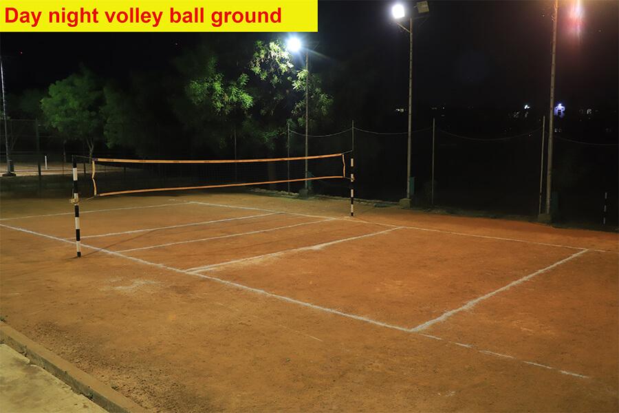 3_Day night volleyball ground