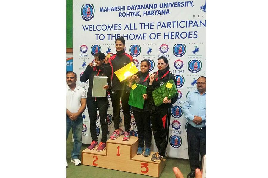 All India Inter University Teakwondo Competition