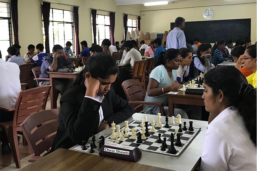 KSLU Inter Collegiate Chess Competion