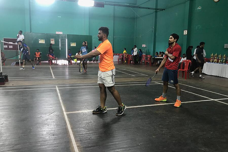 KSLU Inter Collegiate Shuttle Badminton 2