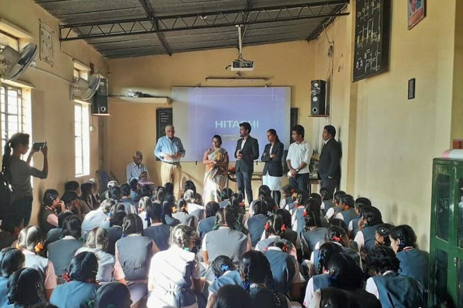 Legal Awareness Program in Jeshweshwar School 26-11-2019