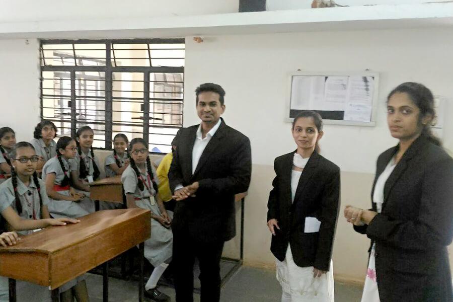Legal Awareness Program in M.R Sakhare School 09-11-2017