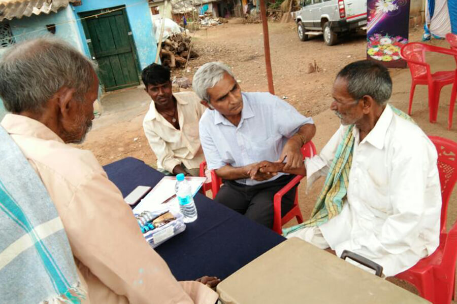 Health Check up camp on the occasion of Ambedkar Jayanti at Indian Medical Association, Hubballi dated 14-4-2017