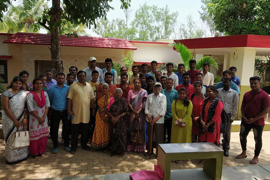 Legal Literacy Program on Empowerment of Women Gram Panchayat Kadanakoppa Village Hubballi dated 18.5.2018