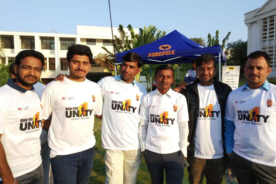 Run for Unity Programme at KLE sister Institutions dated 31-10-2018