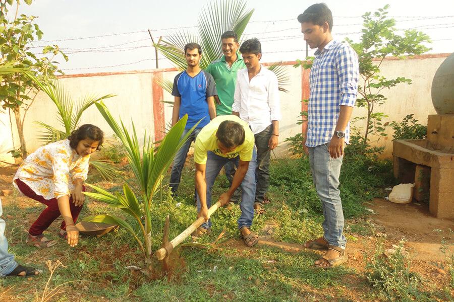 Swachha Bharat Abhiyan & Shramadan Programme at Gram Panchayat, Gokul, Hubli dated 11-4-2016