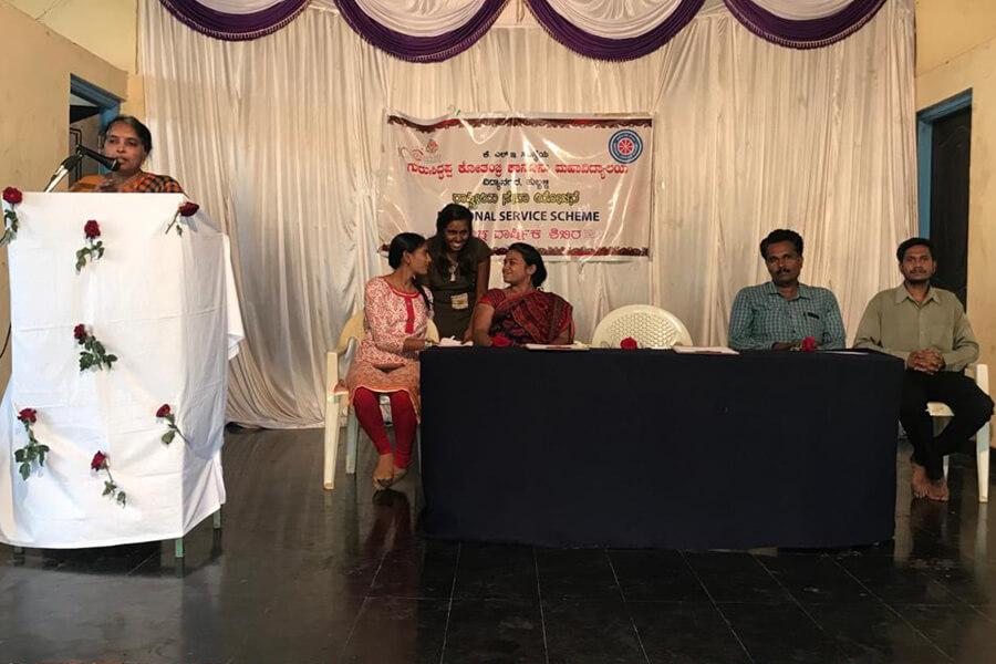 Women Empowerment programmeat Gram Panchayat, Halyal dated 15-5-2019